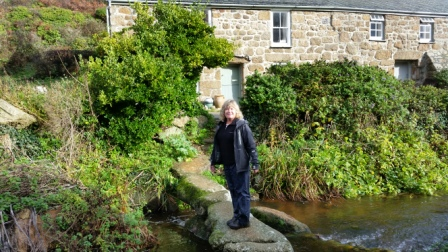 Lyndsay at Penberth